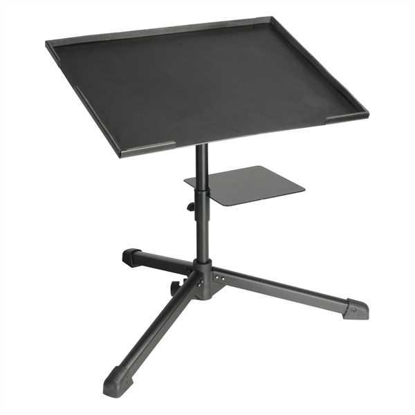ah Stands - Laptop Ständer mit Dreibein und Zusatzablage