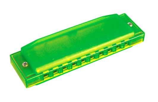 Hohner Happy Green Color Harp C-Dur