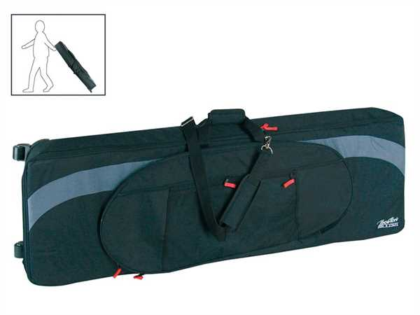Boston SPT-135 BG Stage-Piano-Tasche mit Rollen 25mm gefüttert