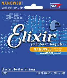Elixir 12002 Super Light Saitenset 009-042