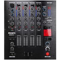 Mixars MXR 4 DJ-Mixer 4-Kanal m. USB