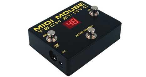 Tech 21 Midi Mouse Midi-Footcontroller Ausstellungsstück