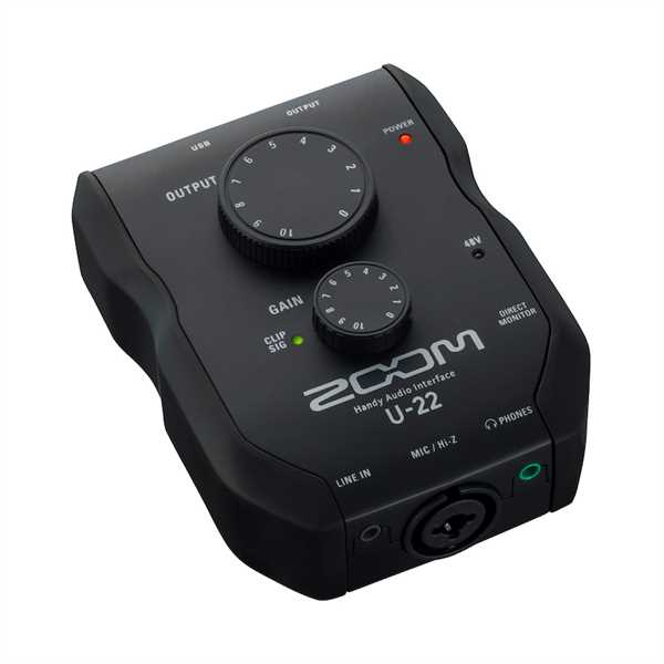 Zoom U22 Audio-Interface