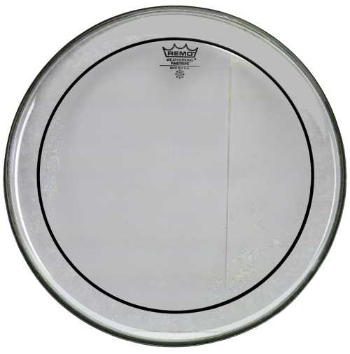 "Remo Pinstripe 22"" Clear Bassdrumfell"