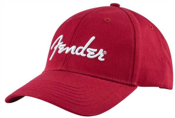 Fender Logo Stretch Cap Red 910-6002-606