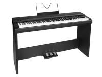 Medeli SP201+ BK Stage-Piano Bundle schwarz mit Ständer, Pedaleinheit und Sitz