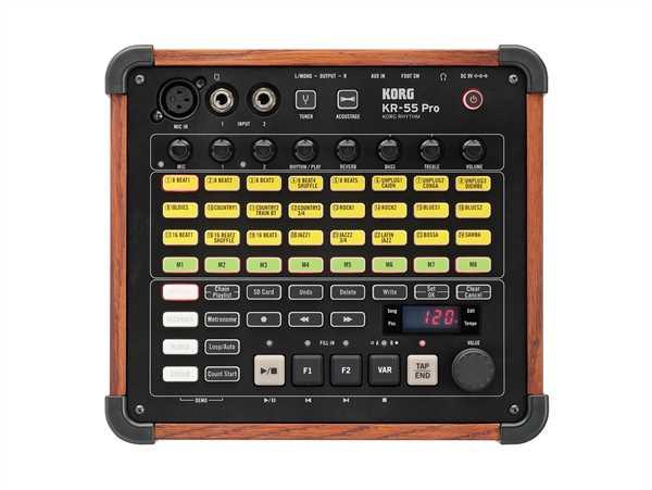 Korg KR-55 Pro Digital Drum Rhythm Modul