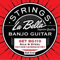 La Bella BG-110 BE Saitensatz für Gitarren-Banjo Ball End