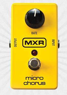 MXR M148 Micro Chorus Pedal