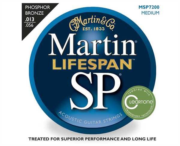 Martin SP-7100 Lifespan Akustik-Saitenset 013-056
