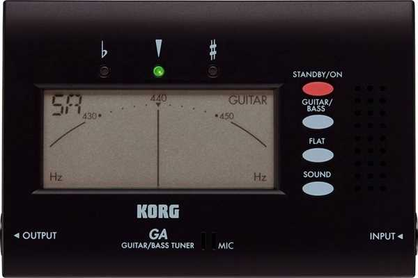 Korg GA-40 Stimmgerät Gitarre/Bass