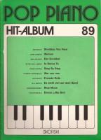 Antiquariat Pop Piano Hit Album 89