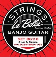 La Bella BG-110 LE Saitensatz für Gitarren-Banjo Loop End