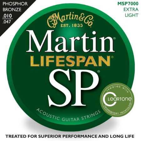 Martin SP-7000 Lifespan Akustik-Saitenset 010-047