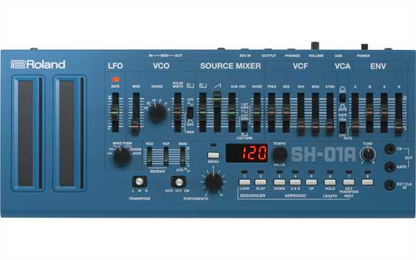 Roland SH-01A Blue Syntheziser Modul