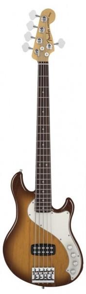 Fender American Deluxe Dimension Bass RW V Violin Burst