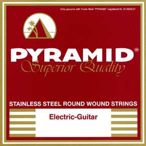 Pyramid 011-060 Stainless Steel E-Gitarre