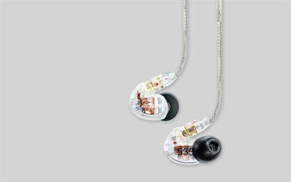 Shure SE535-CL In-Ear-Hörer (transparent)