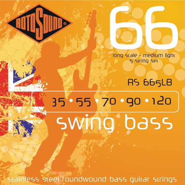 Rotosound Swingbass RS-665LB