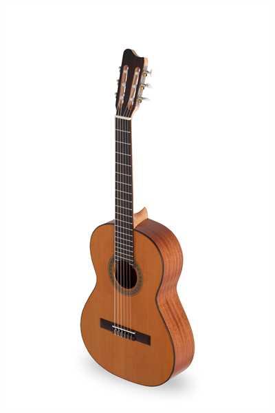 Amano 4C-61 Konzertgitarre massive Zedern-Decke 3/4-Größe