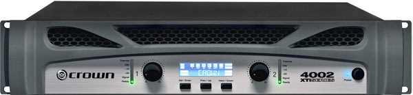 Crown XTI 4002 Endstufe 2x1200W an 4 Ohm