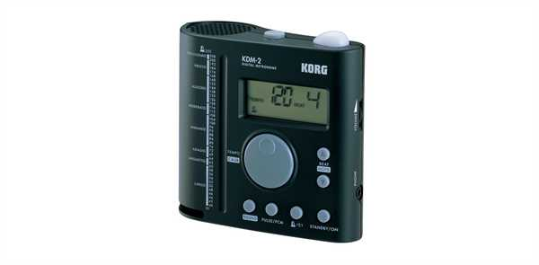 Korg KDM-2 Metronom für Schlagzeug Digitalmetr.