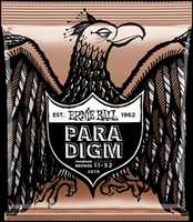 "Ernie Ball ""Paradigm"" Westerngitarren Saitenset 011-052 Phosphor Bronze 2076"