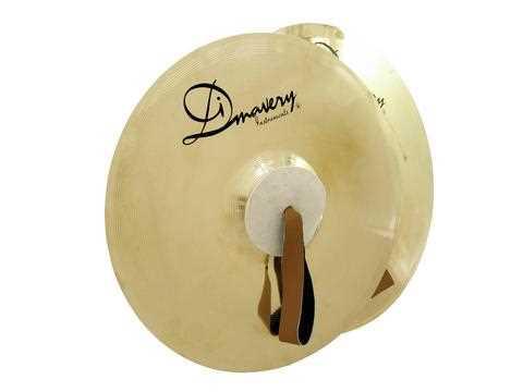 """Dimavery 20"""" Marschbeckenset aus B20 Bronze gehämmert"""