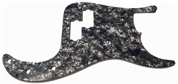 Fender Original Pickguard P-Bass Black Moto Pearl