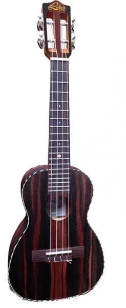 Leho Sopran-Ukulele LHUS-ALEB, striped ebony