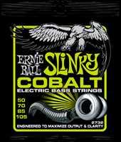 """Ernie Ball 2732 """"Slinky Cobalt"""" E-Bass Saiten 050-105"""