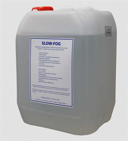 Look Solution Slow-Fog-Fluid 5l