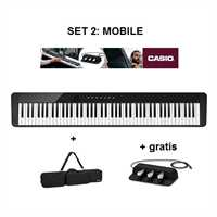 "Casio Privia PX-S 1000 BK Set 2 ""Mobile"" Stage-Piano-Set inkl. Tasche & Pedal-Einheit"