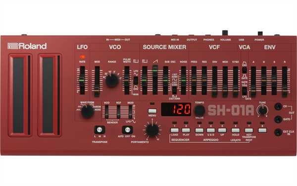 Roland SH-01A Red Syntheziser Modul