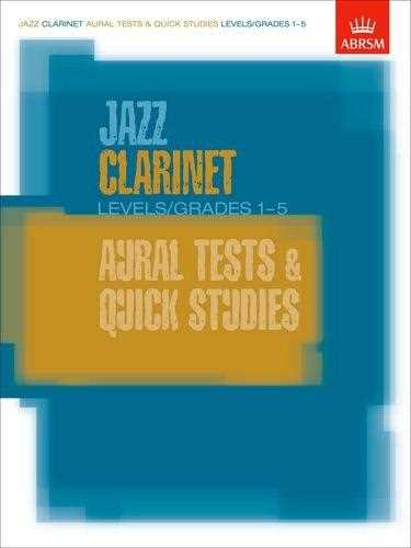 Jazz Clarinet Aural Tests Level 1-5