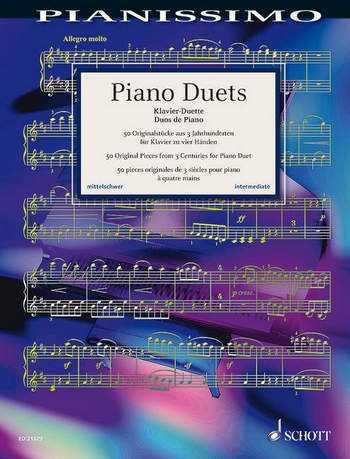 Piano Duets : für Klavier zu 4 Händen Spielpartitur