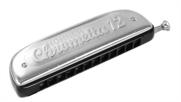 Hohner Chrometta 12 in C-Dur 48 Töne