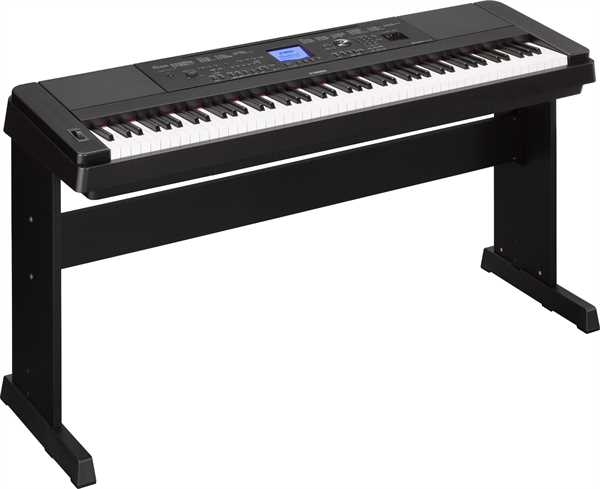 Yamaha DGX-660 B Piano-Keyboard schwarz satiniert