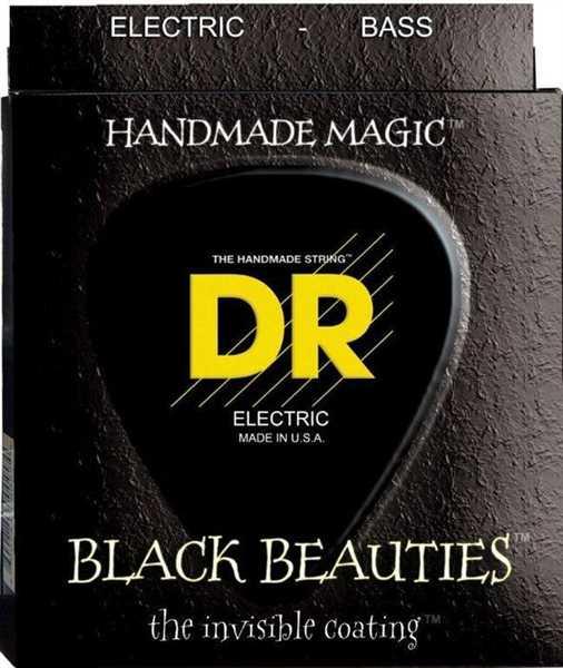 DR Strings Black Beautie BKB-45