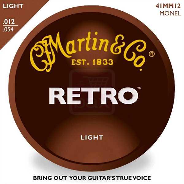 Martin MM-12 Retro Akustik-Saitenset 012-054, light