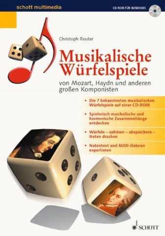 Musikalische Würfelspiele :CD-Rom