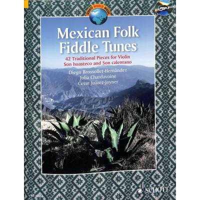 Mexican Folk Fiddle Tunes (+MP3-CD) : für Violine