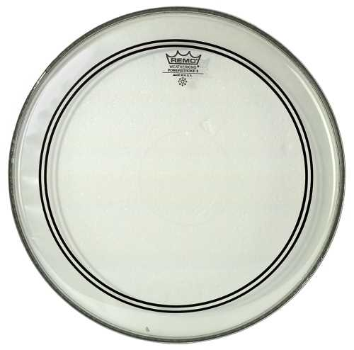 """Remo Powerstroke 3 13"""" Clear"""