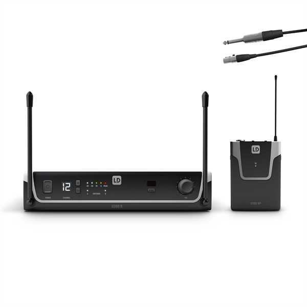 LD Systems U308 BPG - Funksystem mit Bodypack und Gitarren Kabel