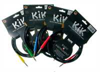 Klotz KIKC 3m PP4 Instrumentenkabel grüne Stecker