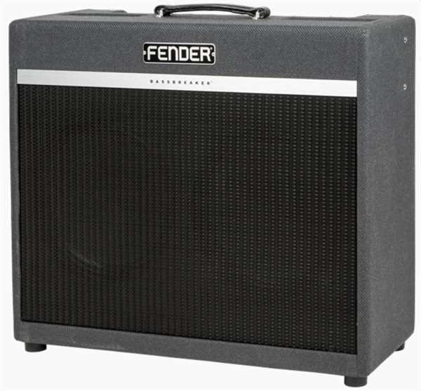 Fender BassBreaker 45 Combo 2x12 Grey Tweed