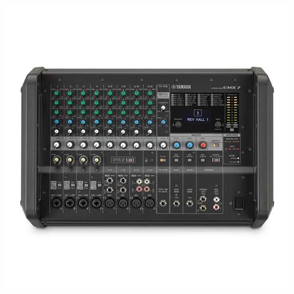 Yamaha EMX7 12-Kanal Powermixer