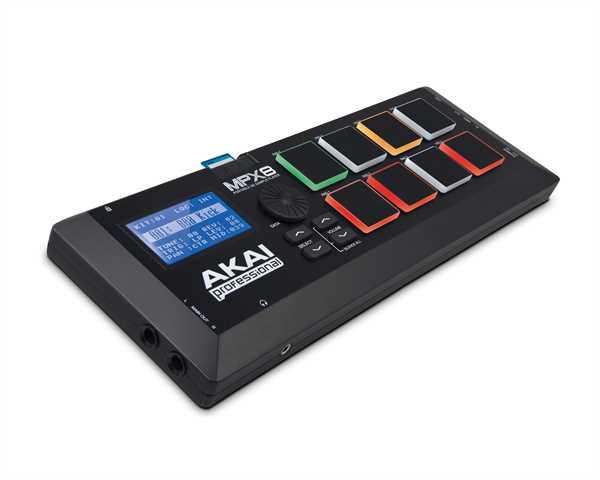 Akai MPX-8 mobiler SD Sample Player