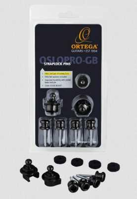 Ortega Strap Lock System Gloss Black