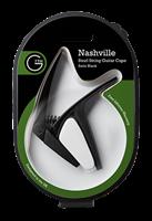 G7th Nashville Capo für Western- + E-Gitarre schwarz
